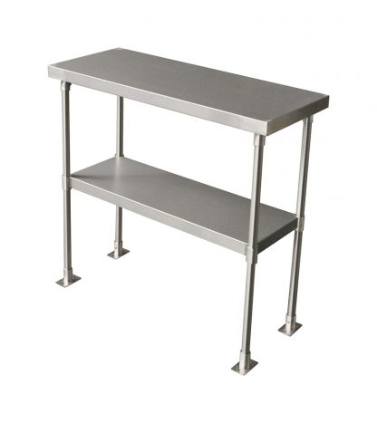 Stainless Steel 2-Tier Over Shelves, 850 X 350mm-0
