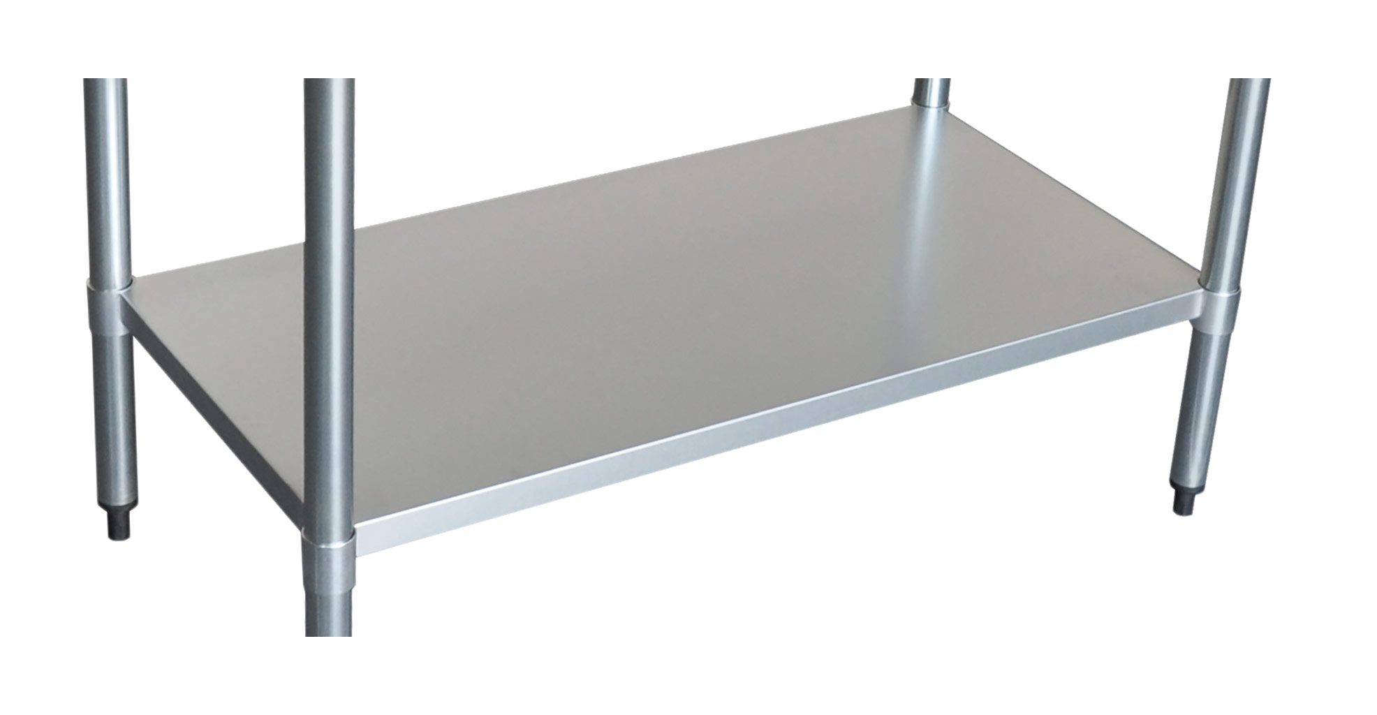 Stainless Undershelf for 2424 Bench-0