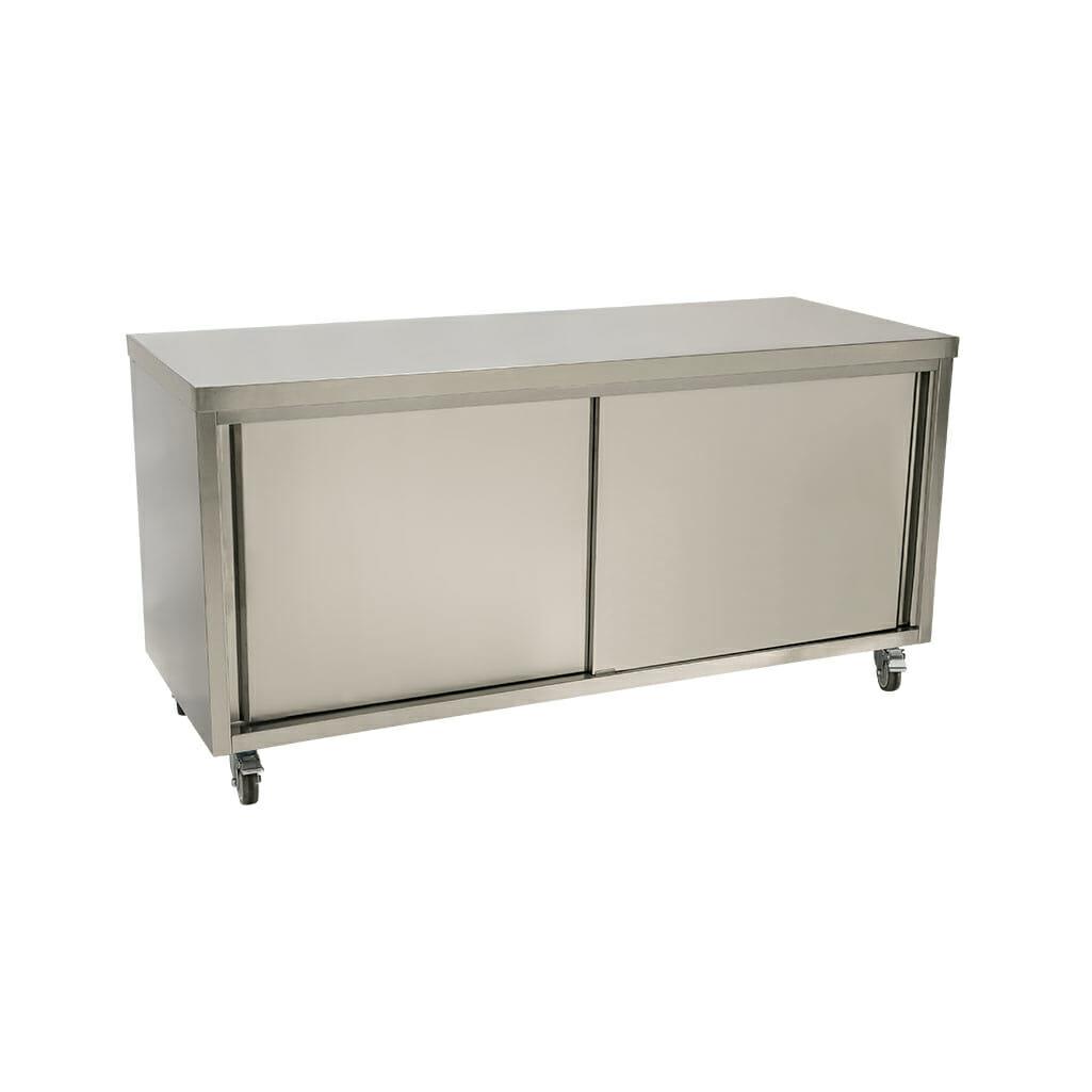 Stainless Steel Restaurant Cabinet, 1800 x 700 x 900mm high