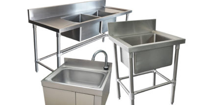 Commercial Kitchen – Cabinets, Benches & Shelving Layout
